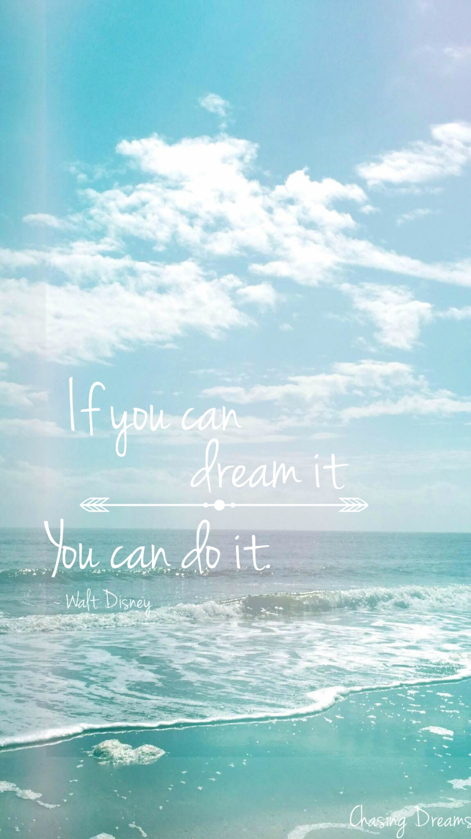 Chasing Dreams, Walt Disney, Dreams, Dreaming, Hope