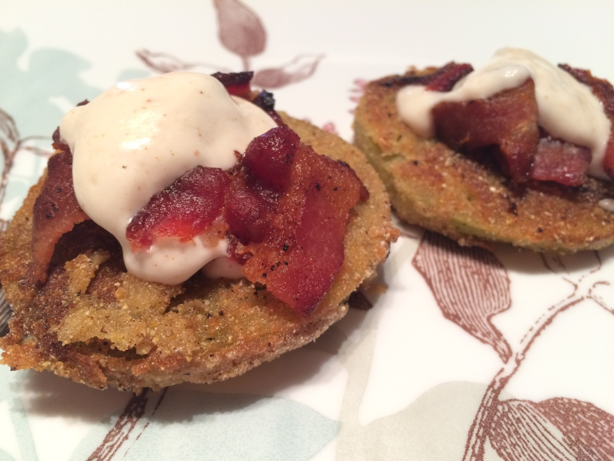Fried Green Tomatoes, Southern Cooking, Bacon, Tomato