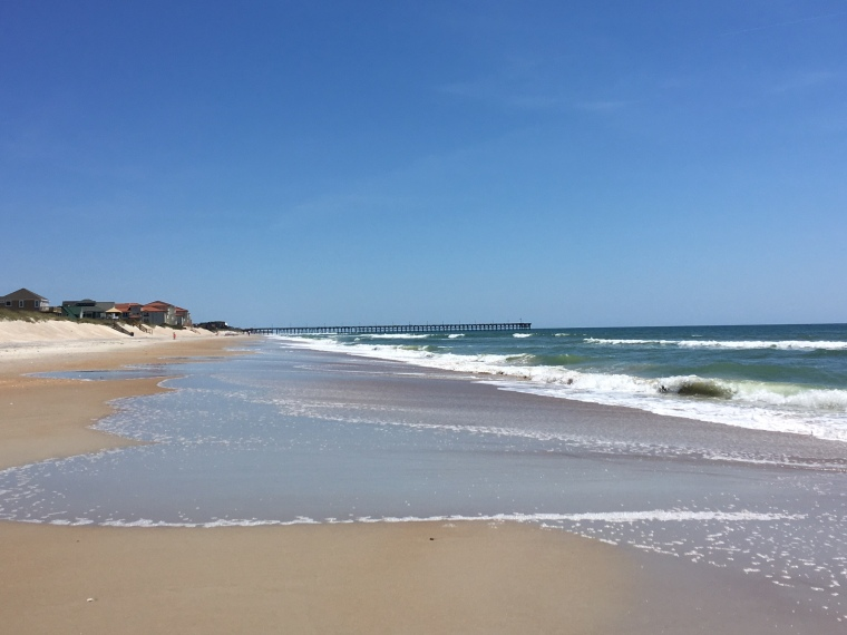 north topsail, north topsail island, eastern nc, beach, north carolina