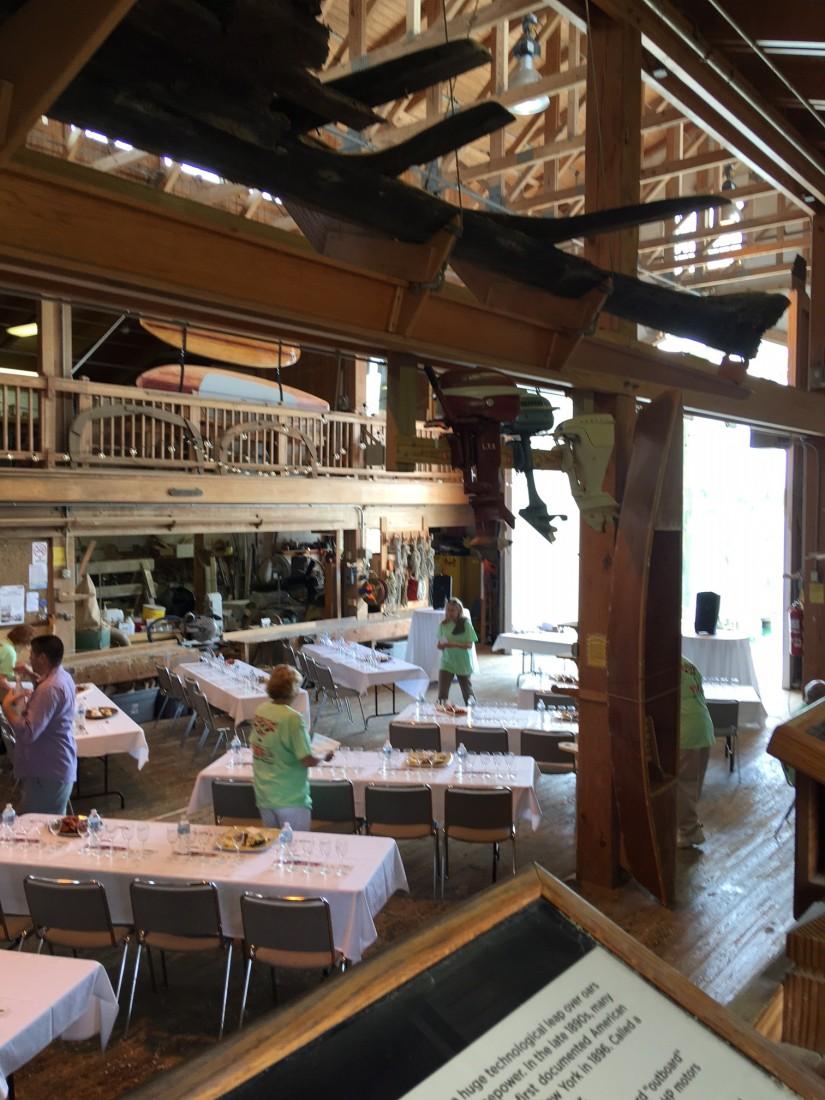 Harvey W. Smith Watercraft Center, Beaufort, Beaufort NC, NC Maritime Museum, Beaufort Food & Wine