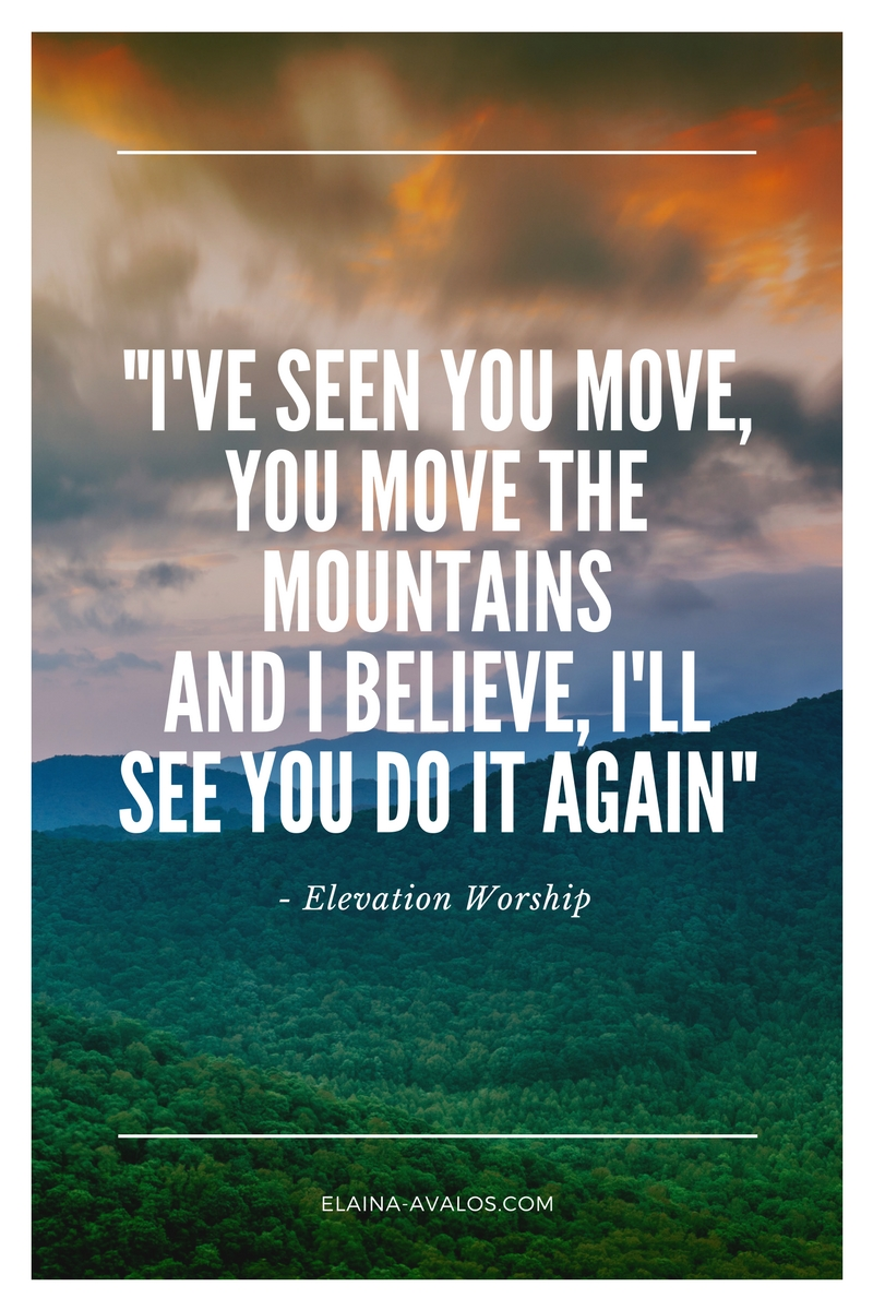 elevation worship, do it again, chasing dreams