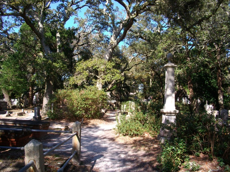 Beaufort NC, Beaufort, Old Burying Ground,
