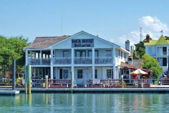 The Dock House, The Dock House Beaufort NC