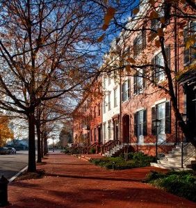 Washington DC, brownstone, DC, Layfette Park, The District