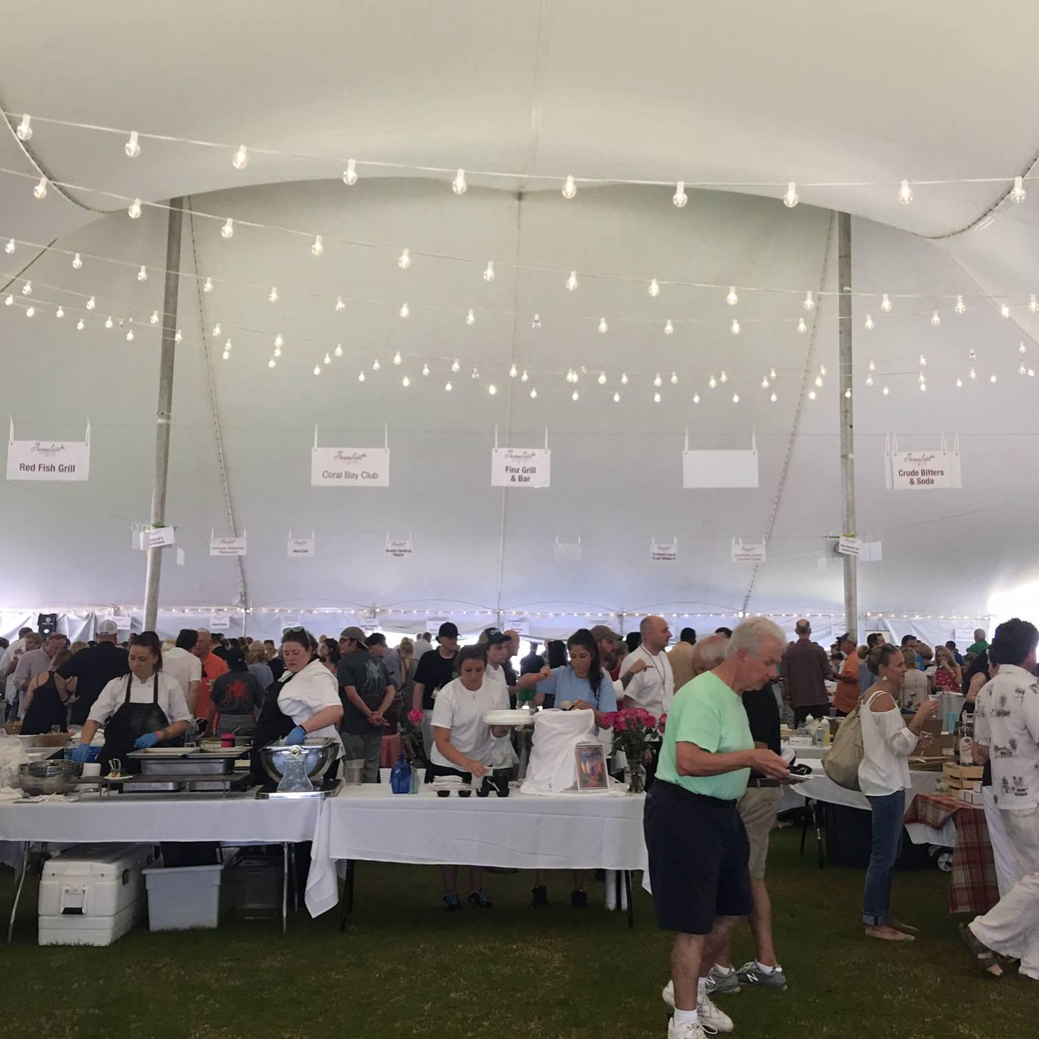 Beaufort, Beaufort NC, NC Maritime Museum, Beaufort Food & Wine Festival, Vin de Mear Epicurean Village