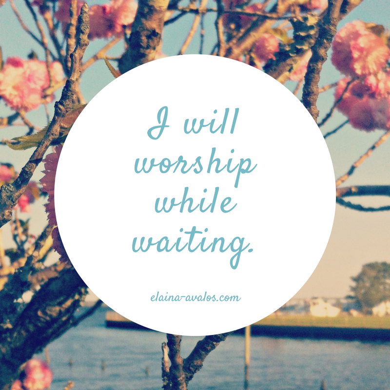 Waiting, God's Will, Worship While Waiting