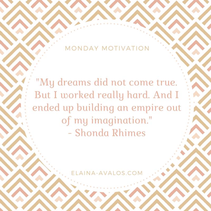 Shonda Rhimes, Monday Motivation, Writing, Writer,