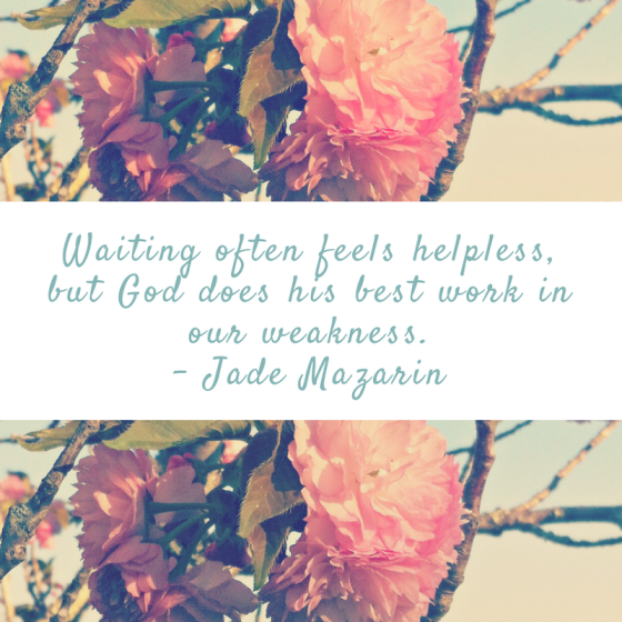 Waiting, God's Will, Waiting and God's Will