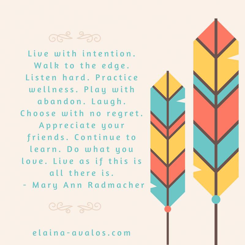 Mary Ann Radmacher, intention, Chasing Dreams,