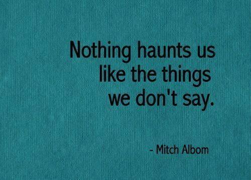 say what you need to say, mitch albom, elaina avalos