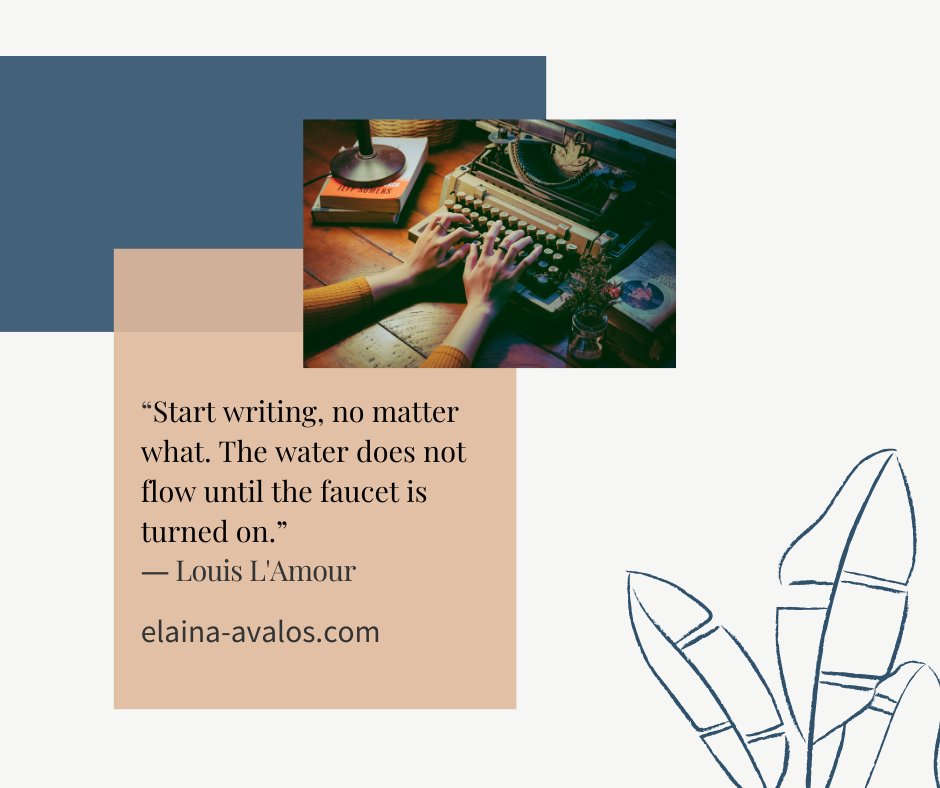 writing, louis l'amour, elaina avalos