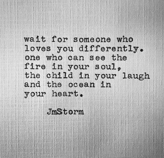 JmStorm, wait for someone who loves you differently, elaina avalos