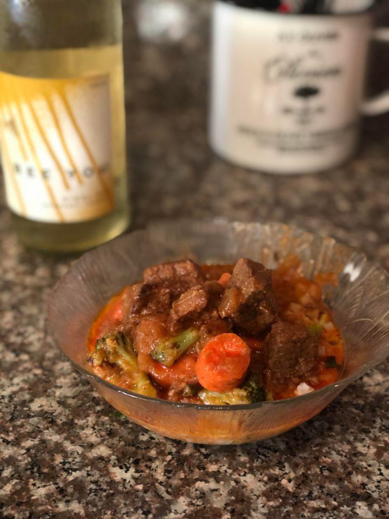 Crockpot Thai Beef Stew, Danielle Walker, Elaina Avalos, Elaina M. Avalos